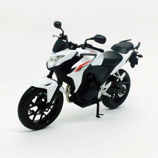 Miniatura Moto Honda Cb500f 110 Welly Minimundicombr
