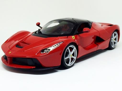 uk availability 12788 94409 Miniatura Carro Ferrari LaFerrari - Ferrari Signature Series - Vermelha -  1 18 - Burago