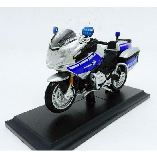 Miniatura Moto Bmw R 1200 Rt Polizei 1 18 Maisto Design