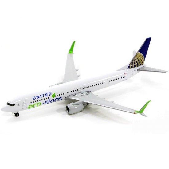 """Herpa Wings 1:500 529273  United Airlines Boeing 737-900 /""""Eco-Skies/"""""""
