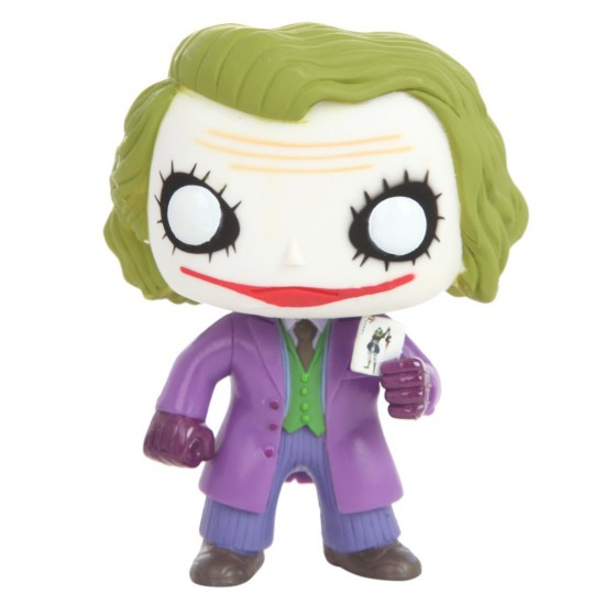 Boneco The Joker - Batman The Dark Knight Trilogy - Pop! Heroes 36 - Funko