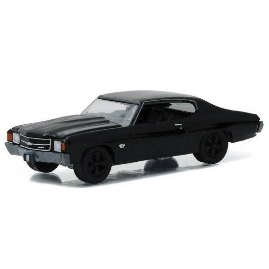 Chevrolet: Chevelle SS 396 (1972)   Black Bandit   Série 16   1