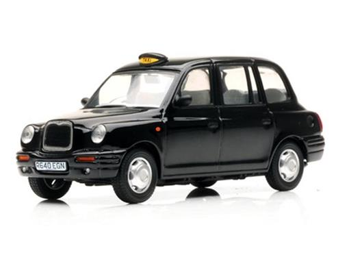 London Taxi: TX1 Cab (1998) - Preto - 1:18 - Sun Star