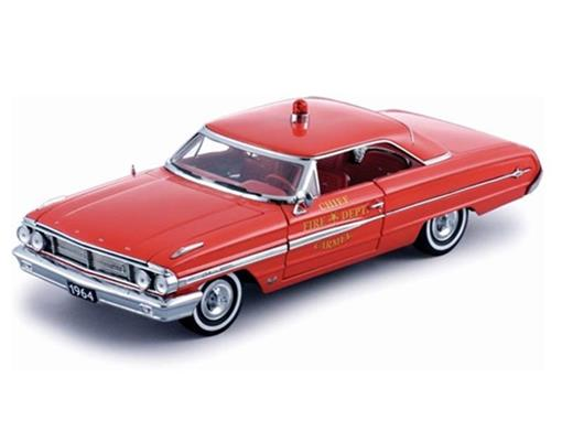 Miniatura Carro Ford Galaxie 500 (1964) - 1:18 - Sun Star