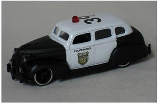 Chevrolet: Master Deluxe Policia - Heat Wave 3 - (1939) - 1:64