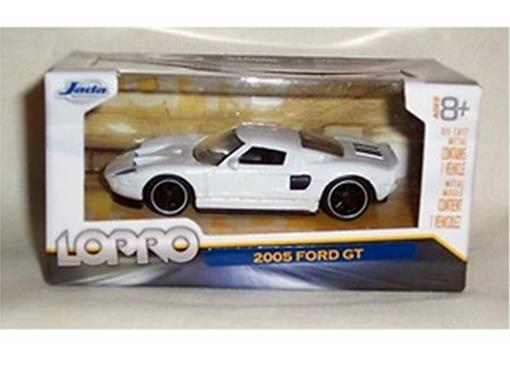 Ford: GT - Lopro - (2005) - Branco - 1:64