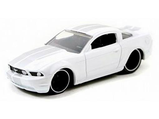Ford: Mustang GT - Lopro - (2010) - Branco - 1:64