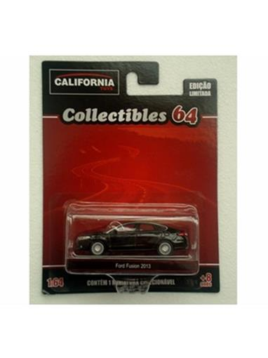 Ford: Fusion (2013) - California Toys - Preto - 1:64