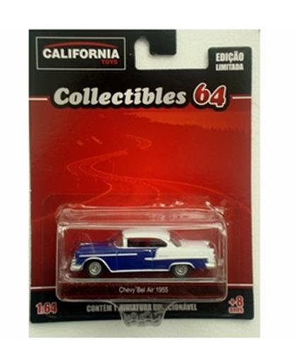 Chevrolet: Bel Air (1955) - California Toys - Azul - 1:64