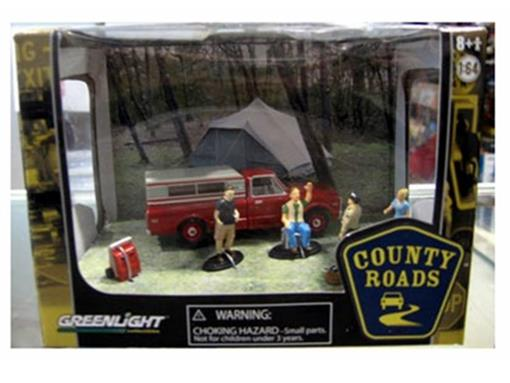Diorama: Chevrolet C-10 (1969) - County Roads - 1:64