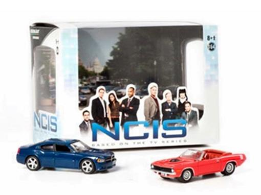 Miniatura Diorama Dodge Charger / Plymouth Cuda - NCIS - 1:64 - Greenlight