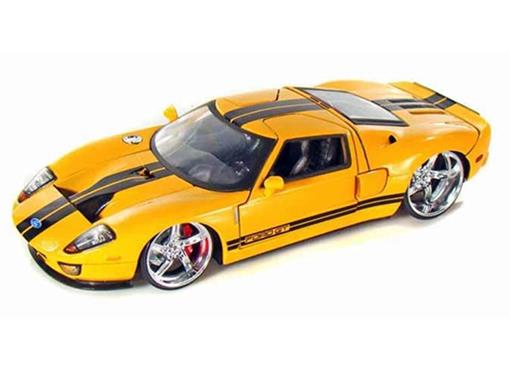 Ford: GT (2005) - Amarelo - 1:24