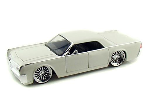 Lincoln: Continental (1963) - Branco - 1:24