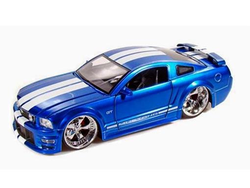 Ford: Mustang GT (2006) - Azul - 1:24