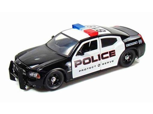 Dodge: Charger R/T (2006) - Police Car - 1:24