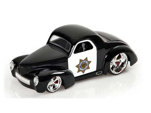 Ford: Willys Coupé Police Car (1941) - 10th Anniversary