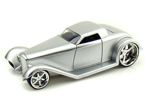 Ford: Coupe (1932) - Prata - 1:24