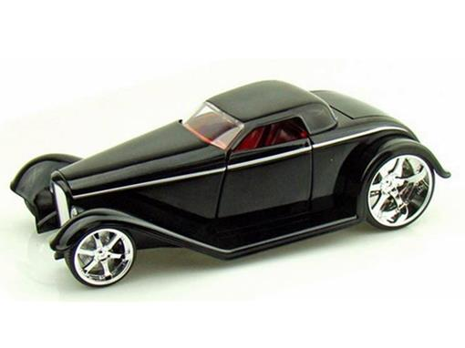 Ford: Coupe (1932) - Preto - 1:24