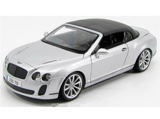 Bentley: Continental Supersports Convertible   - Prata - 1:18