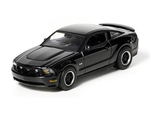 Ford: Mustang GT (2012) - Black Bandit - Série 7 - 1:64
