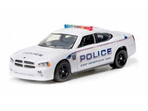 Dodge: Charger Police (2008) - Hot Pursuit - Série 8 - 1:64