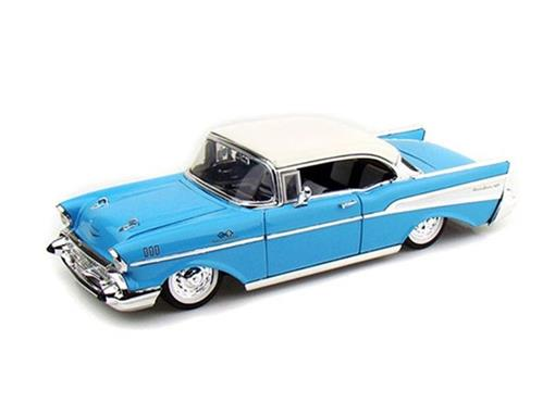 Chevrolet: Bel Air (1957) - Azul - 1:24