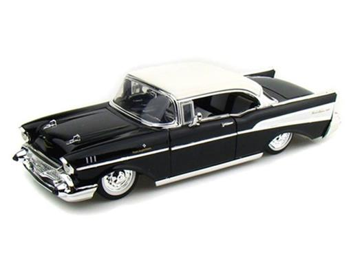 Chevrolet: Bel Air (1957) - Preto - 1:24