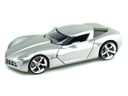Chevrolet: Corvette Stingray Concept (2009) - Prata - 1:24