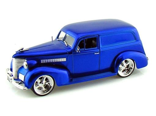 Chevrolet: Sedan Delivery (1939) - Azul - 1:24