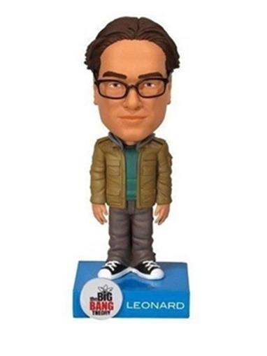 Boneco Leonard (The Big Bang Theory) - Wacky Wobbler Bobblehead
