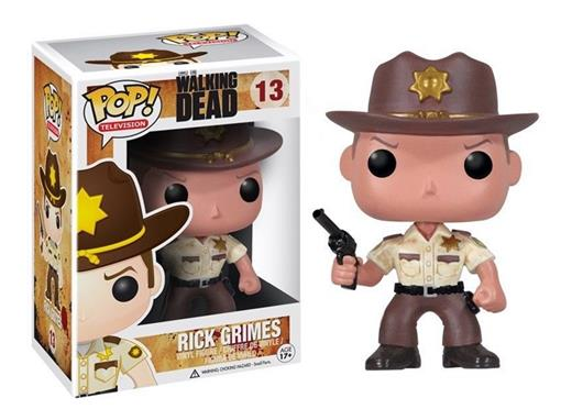 Boneco Rick Grimes - The Walking Dead - Pop! Television 13 - Funko