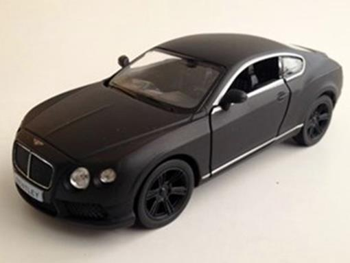Bentley: Continental GT V8 - Preto Fosco - 1:32