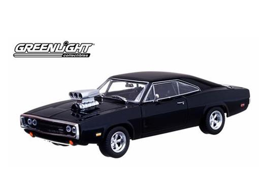Dodge: Charger R/T (1970) Dom's - Fast & Furious - 1:43