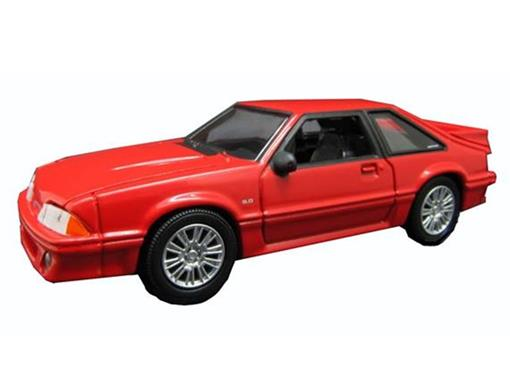 Ford: Mustang GT (1987) - Ghost - Hollywood S 5 - 1:64