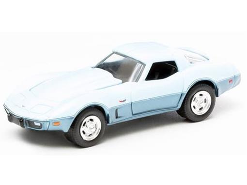 Chevrolet: Corvette Custom (1978) - GL Muscle - Série 6 - 1:64