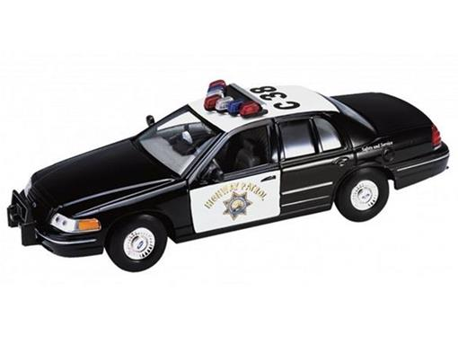 Ford: Crown Victoria (1999) - Polícia - 1:24 - Welly