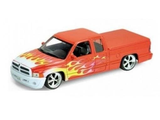 Dodge: Ram 1500 Sport - Laranja - 1:24 - Welly