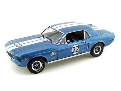 Ford: Mustang (1968) - Bill Maier - Racing Tribute - 1:18