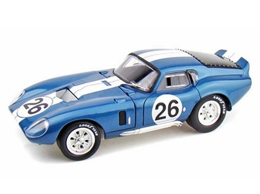 Ford: Shelby Daytona Cobra Coupe CSX 2601 (1965) Azul - 1:18