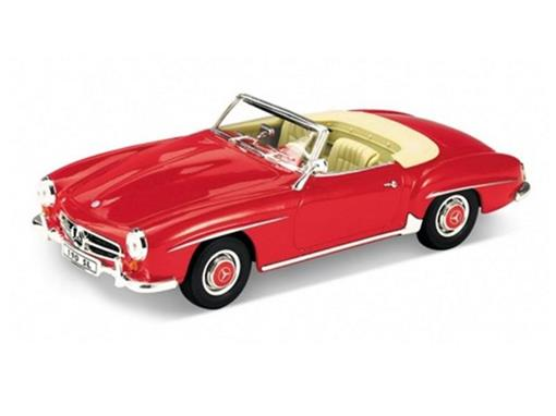 Miniatura Carro Mercedes Benz 190SL (1955) - 1:18 - Welly