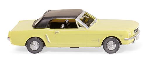 Ford: Mustang Cabriolet - Amarelo - HO