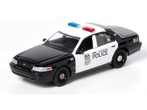 Ford: Crown Victoria -Milwaukee Police -Hot Pursuit Série 10 - 1:64
