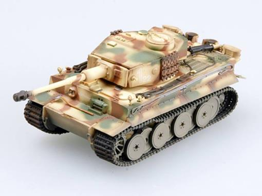 Miniatura Tanque German Army: Tiger 1 Early Type SS LAH (Italy, 1943) - 1:72 - Easy Model