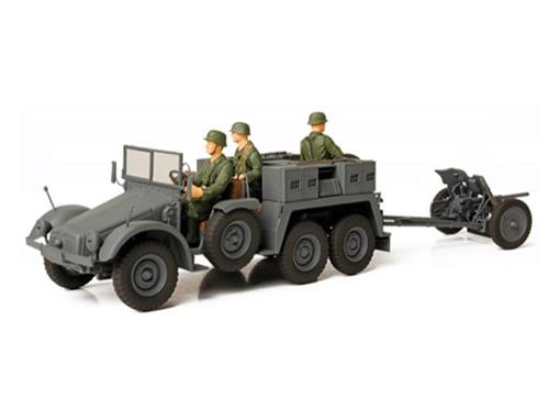 German Army: KFZ. 69 and Towed PaK 36 (1941) - 1:32