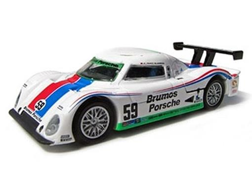 Porsche: Riley - Brumos Racing Daytona Prototype #59 (2008) - 1:64