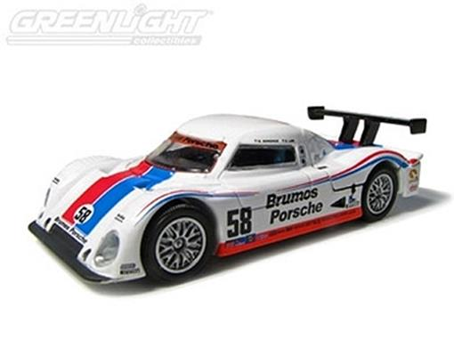 Porsche: Riley - Brumos Racing Daytona Prototype #58 (2008) - 1:64