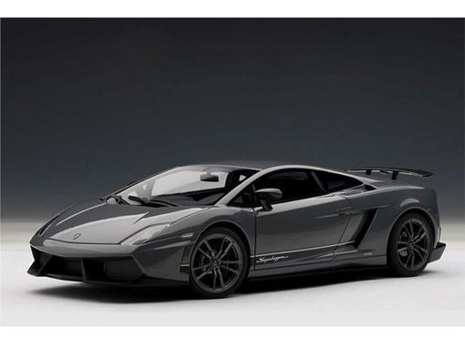 Lamborghini: Gallardo LP570 4 Superleggera (2007)   Cinza Metálico   1:18