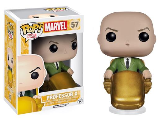 Boneco Professor X - X Men - Marvel - Pop! Marvel 57 - Funko