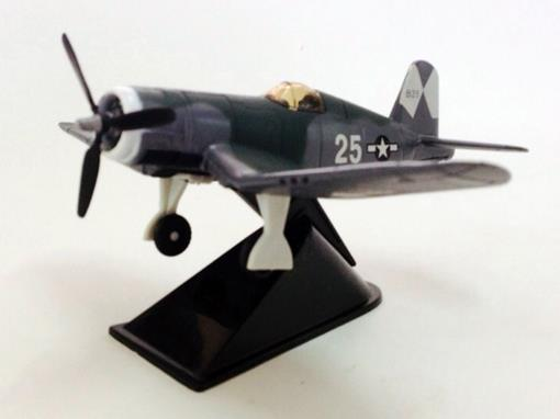 US Army: F - 4U Corsair - Classic Fighter -  Verde - 10 cm