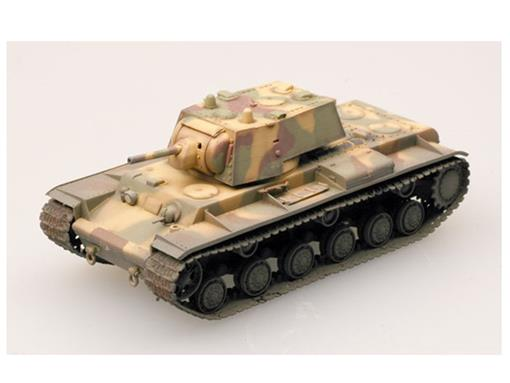 Miniatura Tanque KV-1 Model Heavy Tank (1941) - 1:72 - Easy Model